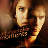 Delena & Forwood bức ảnh containing a portrait entitled Damon & Elena <3
