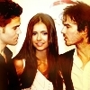 Delena & Forwood photo containing a portrait and attractiveness titled Damon & Elena <3