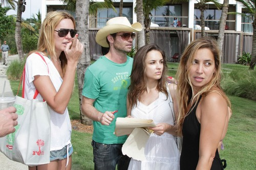Daniel Gillies 壁紙 with a boater and a fedora called Daniel Gillies & Rachael Leigh Cook