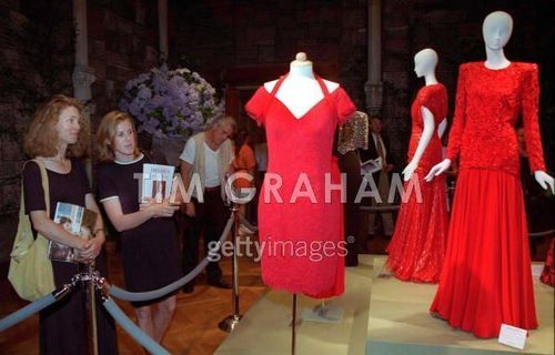 Diana Dresses At Auction