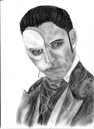 Das Phantom der Oper Hintergrund titled Erik