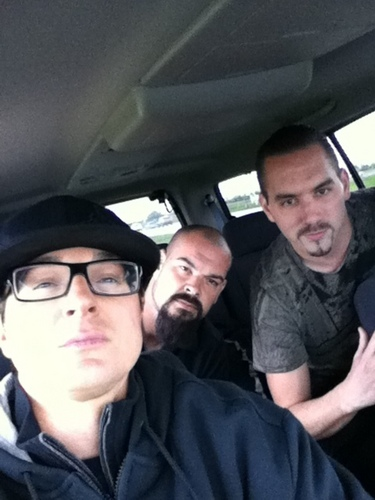 Ghost Adventures wallpaper probably with a limousine and an automobile called G.A.C