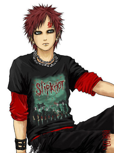 Gaara Slipknot Fan - slipknot Fan Art
