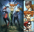 Gotham City Sirens - gotham-girls fan art