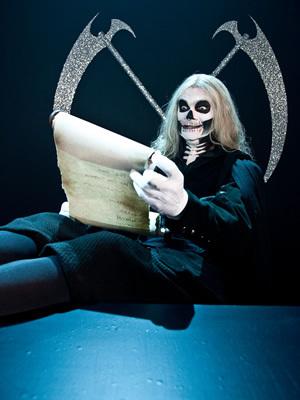 Horrible Histories Обои titled Grim Reaper