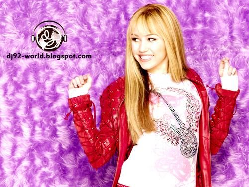 Hannah Montana Season 2 Highly Retouched Quality Photoshoot 바탕화면 의해 dj...!!!