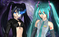 Hatsune Miku and BRS - hatsune-miku fan art