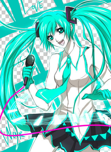 Hatsune Miku wallpaper entitled Hatsune Miku