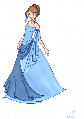 Hermione at the Yule Ball