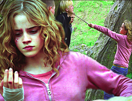 Hermione is a Badass