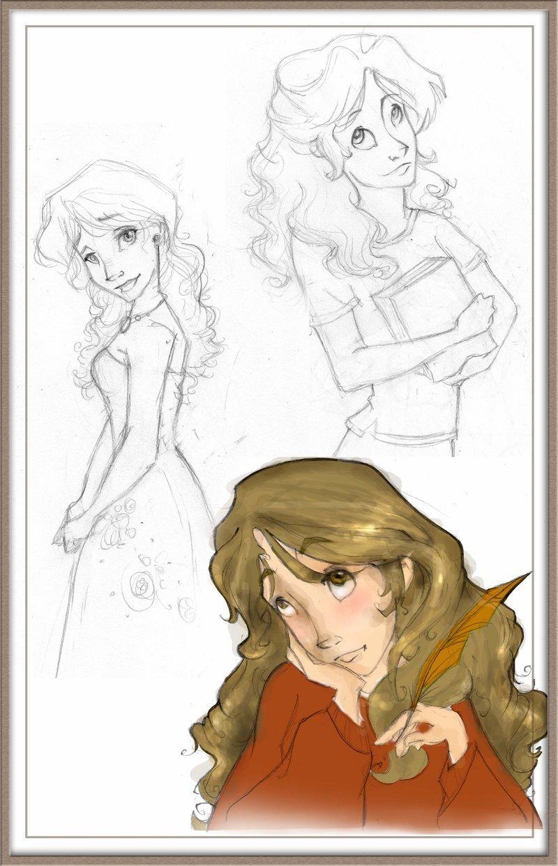 Hermione sketches