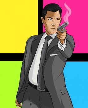 How to Draw Sterling Archer