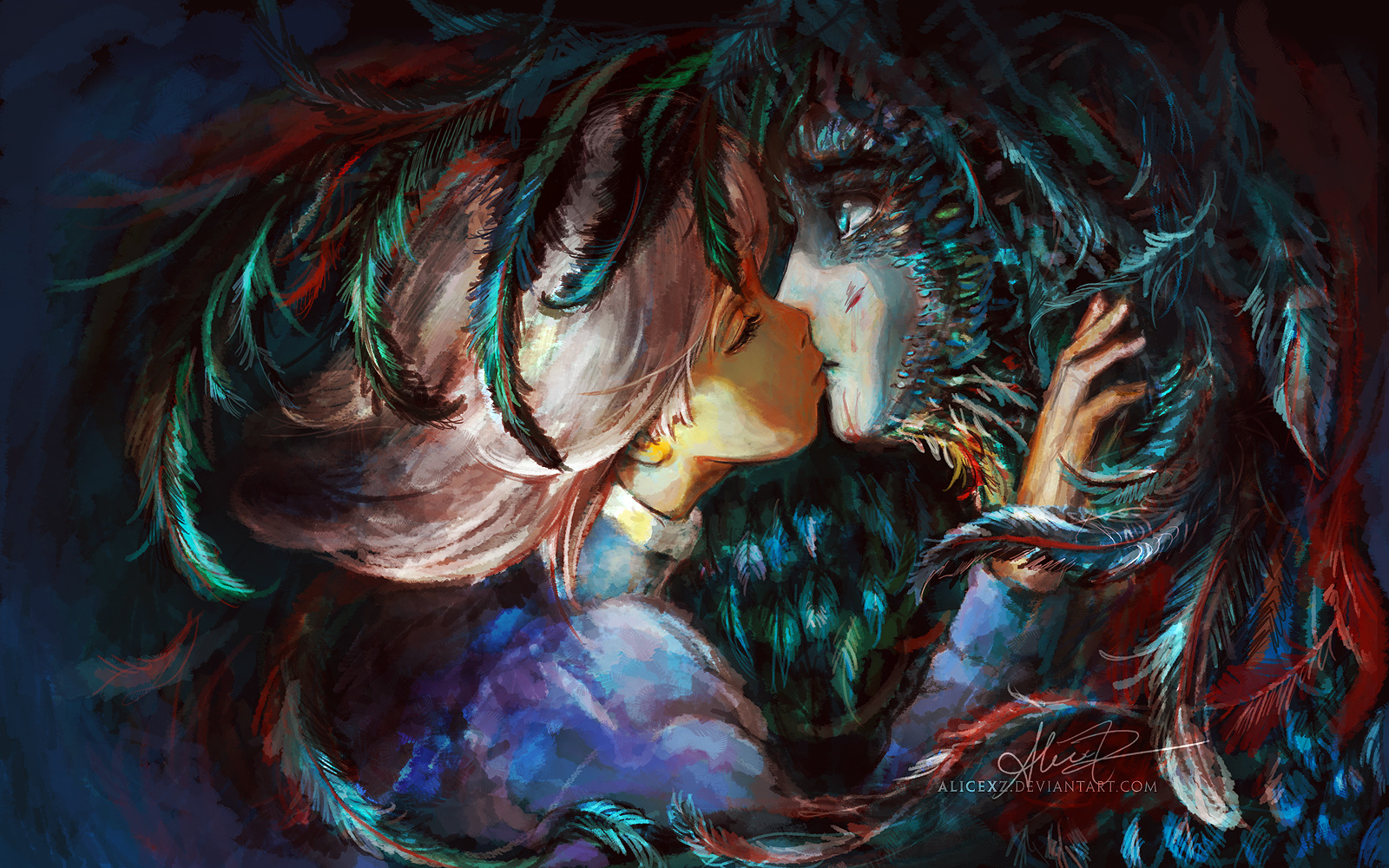 Howl and Sophie - Howl's Moving Castle Fan Art (21816657 ...