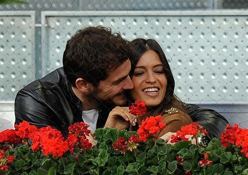 Iker and Sara <3