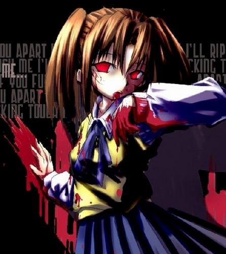 Аниме - Its Raining Blood