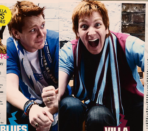 James and Oliver Phelps - fred-and-george-weasley Photo