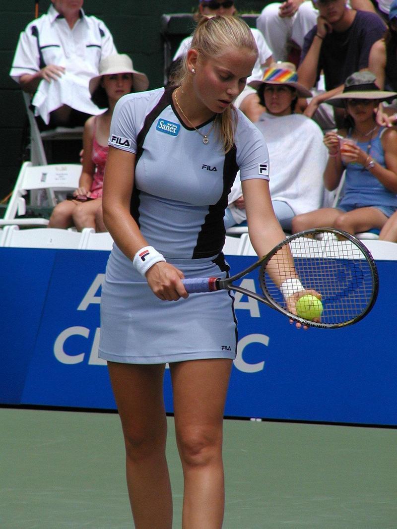 Jelena Dokis breast and legs