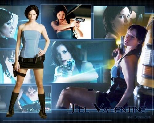 Jill Valentine hình nền