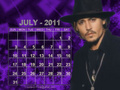Johnny - July 2011 (calendar)