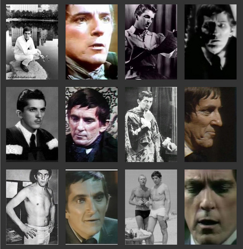 Dark Shadows wallpaper containing a stained glass window entitled Jonathan Frid