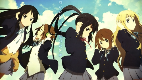 K-ON!! May Scan #1