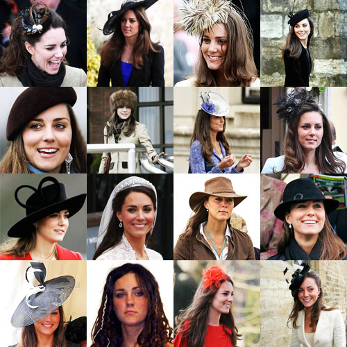 Kate Middleton and hats