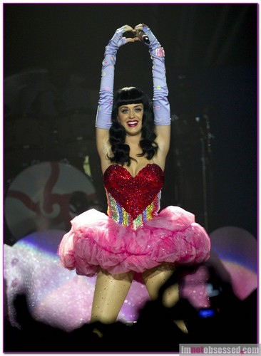 Katy Perry took her California Dreams Tour to the Vector Arena in Auckland