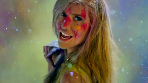 ke$ha wallpaper with a portrait titled ke$ha - Take It Off - musik Video