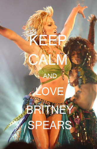 Keep calm and <3 Britney Spears :)