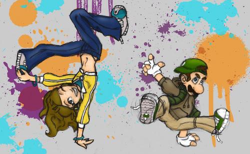 এল-মৃত্যু পত্র + D Breakdance