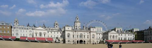 ロンドン HORSE GUARDS PARADE