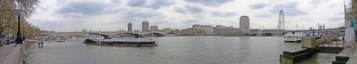 London SOUTH BANK PANORAMA