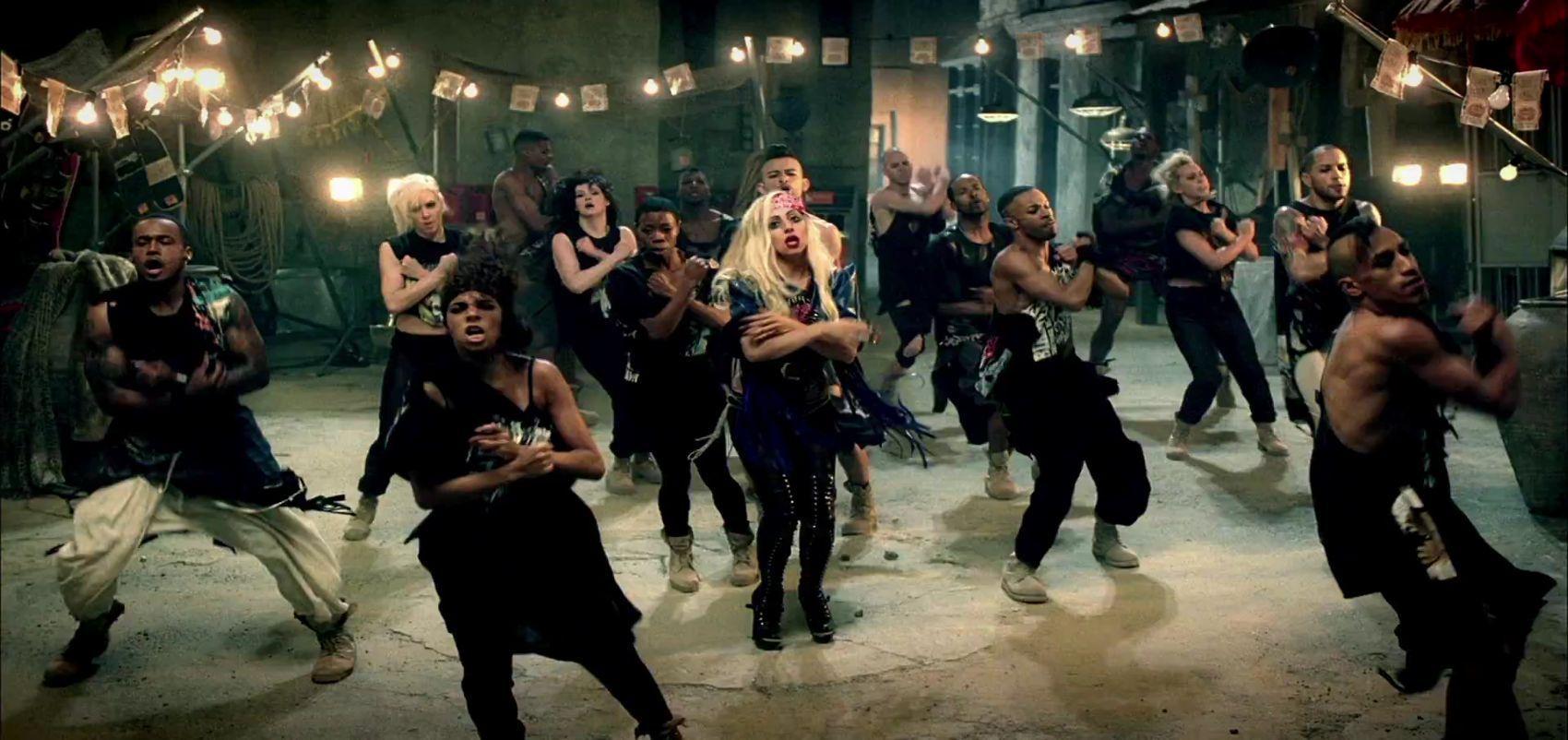 Lady Gaga - Judas - Музыка Video