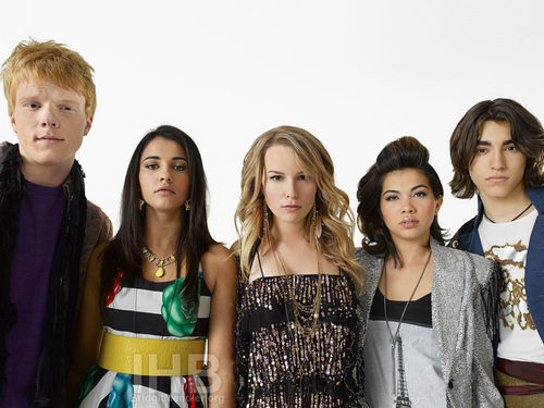 Lemonade Mouth wallpaper probably containing a bridesmaid and a portrait entitled Lemonade Mouth Photo Shoots