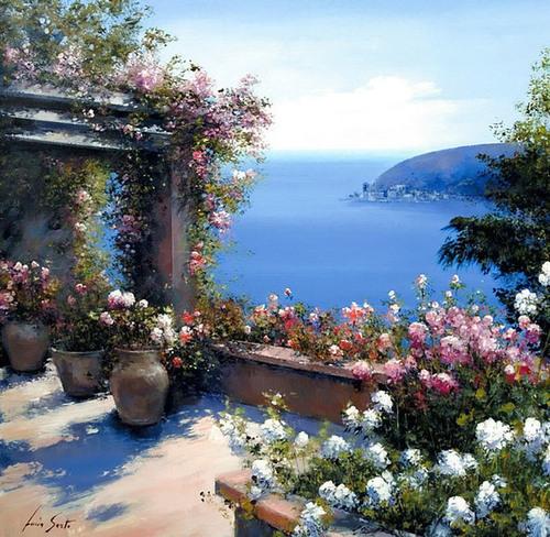 Lucia Sarto Painting