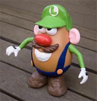 Luigi Potato Head