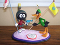 Marvin Martian & Daffy Duck Sculpture