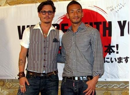May 4, 2011 LA Press Conference--Johnny supports Japan.
