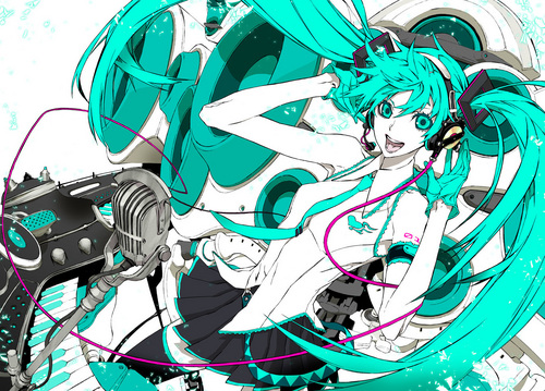 hatsune miku wallpaper called Melt