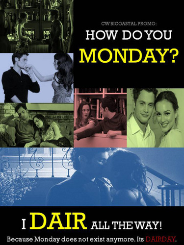 Monday = Dairday