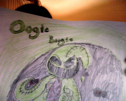 Drawing 壁紙 titled Oogie Boogie