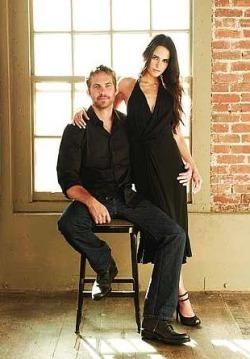 Paul Walker and Jordana Brewster, Fast Five Photoshoot