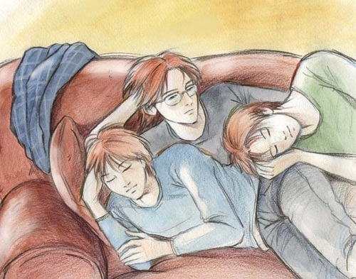 Percy and the twins