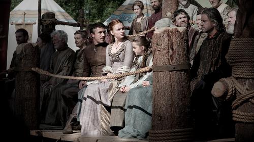 Petyr, Sansa & Arya