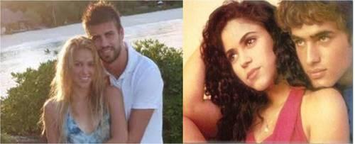 Piqué?  Shakira had a nicer boyfriend !