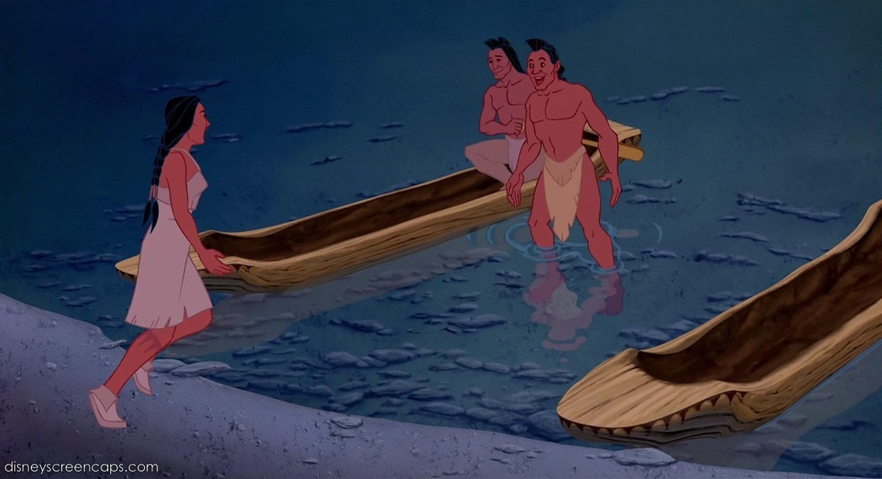 an analysis of the depiction of native americans in pocahontas by disney