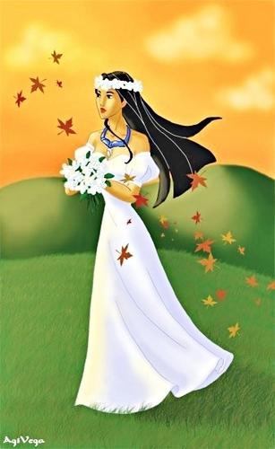 Pocahontas, the Bride