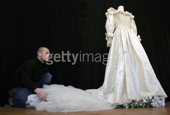 Princess dianas other wedding dress for auction princess diana photo