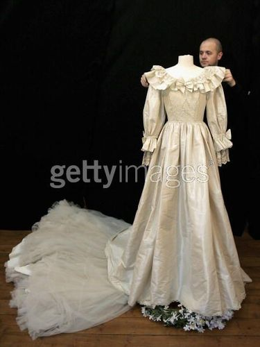 Princess Dianas Other Wedding Dress For Auction