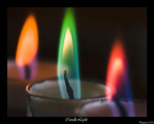 虹 Candles